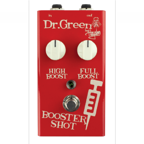 Dr. Green Booster Shot Signal Boost Guitar Effects Pedal